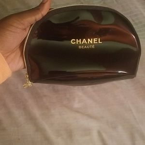 Small Authentic Chanel Beaute Cosmetics bag